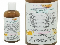 Witch Hazel Cleansing Face Wash, 100% Handmade & Natural, 1 Bottle Of 250ml