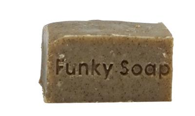1 PIECE SEA KELP AND RHASSOUL CLAY SOLID SHAMPOO BAR, NATURAL & HANDMADE, APPROX 120G