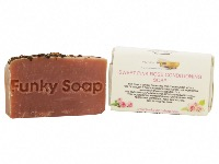 1 PIECE PINK SWEET ROSE CONDITIONING  SOAP, NATURAL & HANDMADE, APPROX 65G