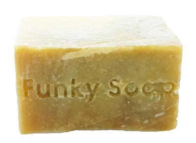 1 PIECE TEA TREE & NEEM OIL SOAP, NATURAL & HANDMADE, APPROX 120G