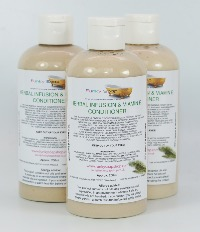 1 BOTTLE HERBAL INFUSION & VITAMIN E HAIR CONDITIONER, HANDMADE & NATURAL, APPROX 250ML