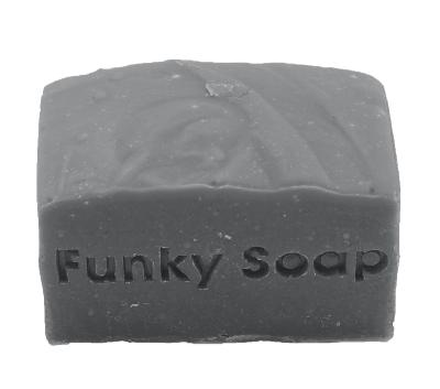 1 PIECE CHARCOAL CLEANSING SOAP, NATURAL & HANDMADE, APPROX 120G