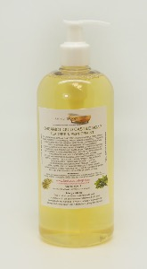 ORGANIC LIQUID CASTILE SOAP WITH TEA TREE AND PEPPERMINT 1 BOTTLE OF 500 ML