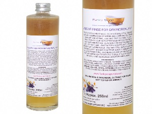 Vinegar Rinse For Dry/Normal Hair, 100% Natural & Free Of Chemicals, Glass Bottle of 250ml
