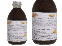 Liquid Black Walnut Shampoo For Brown & Black Hair, Glass Bottle of  250ml