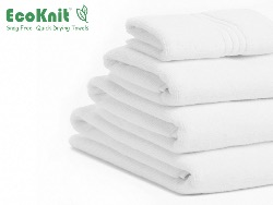 EcoKnit Bath Towel WHITE
