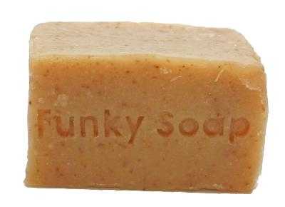 1 PIECE BANANA & HONEY SOAP, NATURAL & HANDMADE, APPROX 120G