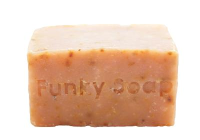 1 PIECE GOJI BERRY & COCNUT MILK SOAP, NATURAL & HANDMADE, APPROX 120G