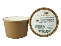 1 KRAFT PAPER TUB SIMPLY SHEA RICH BODY BUTTER, 1 TUB OF 250G, PLASTIC FREE