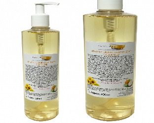 Organic Liquid Castile Soap Unscented, 1 Bottle Of 500ml