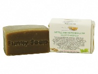 Nettle And Marshmallow Root Solid Shampoo Bar,  Natural & Handmade, Approx. 120g