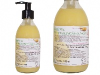 Extra Cleaning Lemon And Tea Tree Hygiene Liquid Hand Wash, Glass Bottle Of 250ml