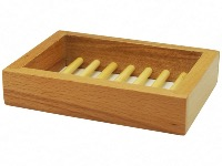 Platane Wood Box Soapdish