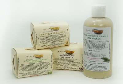 "1x FUNKY SOAP GIFT BOX ""HERBAL HAIR BOX"""