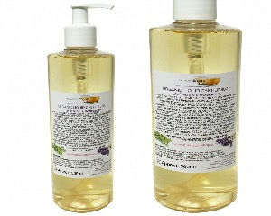 Organic Liquid Castile Soap With Lavender And Rosemary, 1 Bottle Of 500ml