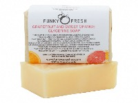 Grapefruit & Sweet Orange Glycerine Soap, 100% Natural & Handmade, 95g