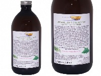 Organic Liquid Castile Soap With Tea Tree And Peppermint, 1 Glass  Bottle Of 500ml