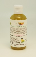 1 BOTTLE LIQUID TEA TREE NEEM OIL SHAMPOO, HANDMADE & NATURAL, APPROX 150ML